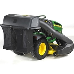 John Deere 6.5-bu Rear Bagger Hopper, Chute, and Power Flow - BG20747