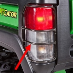 John Deere Brake and Taillight Protector - BM22773