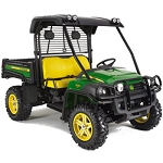 John Deere Black OPS Poly Roof - BM23063