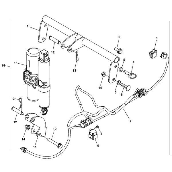 john deere hydraulic implement lift kit