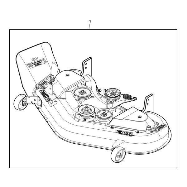 john deere mower deck parts diagram 48 c  john  free