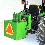 John Deere 9-inch Ballast Box Extension - BW15074