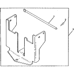 John Deere Rear Weight Bracket Kit - BM17296