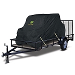 John Deere XUV Transportable Cover- 2 Passenger - Black - LP37040