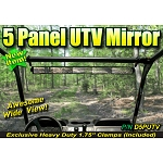 Depco - 5 Panel Wide View Mirror -  D5PUTV-CL