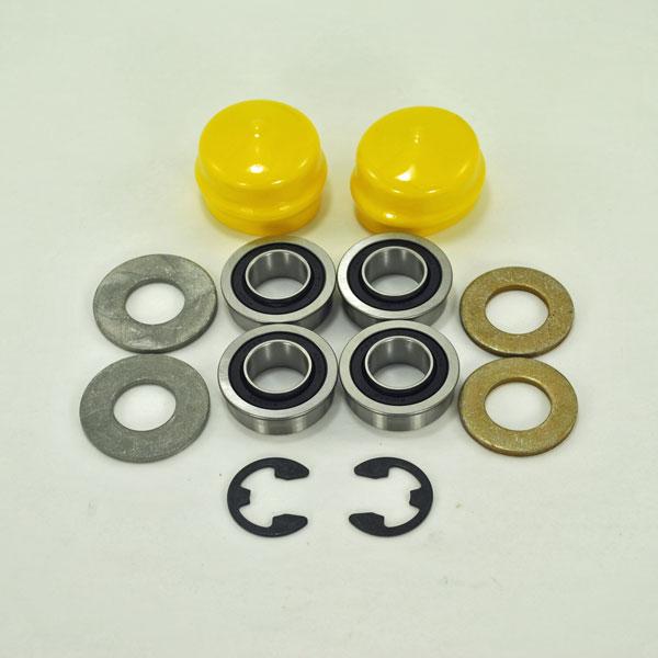 john deere front wheel bearing replacement kit am127304kit1