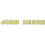John Deere Text Type Decal 8.094-in x 0.787-in - JD5631