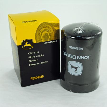 John Deere Engine Oil Filter Re504836