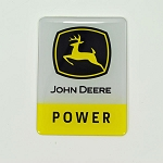 John Deere Power Epoxy Sticker - DSWT74