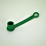 John Deere Hydraulic Hose Tip Cover - Green - M132024