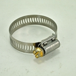 John Deere Worm Drive Stainless Steel Hose Clamp - TY22467 - 13/16-in thru 1-3/4-inch