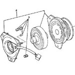 John Deere Electromagnetic PTO Clutch Assembly (Some models have serial number breaks)