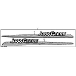 John Deere Hood Stripe Decal Kit - AM131667