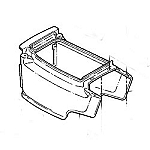 John Deere Lower Hood Kit - AM132685