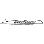 John Deere Right Hand Hood Stripe Decal - M146862