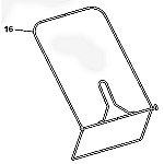 John Deere Grass Catcher Frame - GX22814