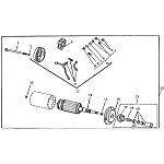 John Deere Starter Assembly - AM121405