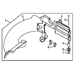 John Deere Bagger Chute Assembly - GC90085 - See product detail for serial number range