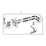 John Deere Auxiliary Hydraulic Outlet Kit - BM17714