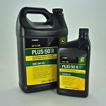 John Deere Plus-50 II Synthetic Blend Motor Oil 0W-40 - Quarts = TY26665 - Gallons = TY26664 - 5 Gallon = TY26667
