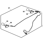 John Deere Headlight Wiring Harness - GY21294