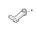 John Deere Drive Belt Tightener Arm - M134968