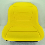 John Deere Yellow High Back Seat with Lumbar Support - GY20808
