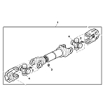 John Deere Transmission Drive Shaft - DMA210303
