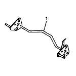 John Deere Rear Axle - GY20698