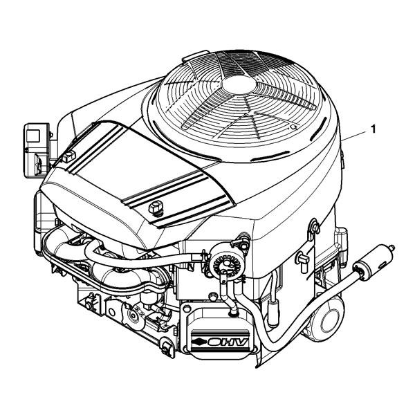 John Deere Complete Gasoline Engine