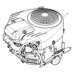 John Deere 22-Hp Gasoline Engine - MIA12623