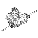 John Deere Complete Transmission Assembly - MIA12863