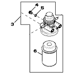 John Deere Fuel Filter Assembly - RE525105