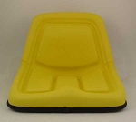 John Deere Complete Replacement High-Back Seat Assembly - TY15863 Click to view model specifics