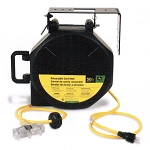 John Deere 12-gauge 50-foot Retractable Cord Reel -  ET-1114-J