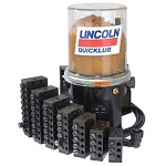 Lincoln Quicklub Lubrication Systems for John Deere Combines