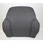 John Deere Grey Cloth Seat Backrest Cushion - AT308796