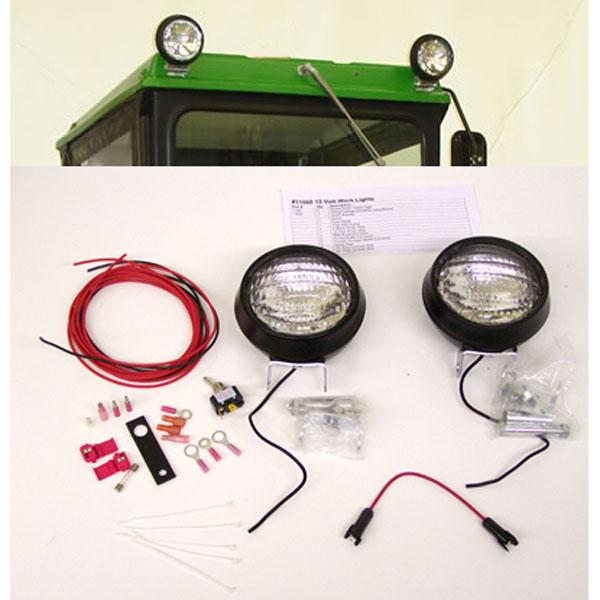 Tractor Light Kits : Original tractor cab work light kit for hard top