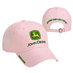 John Deere Pink Owners Edition Cloth Cap - 228424