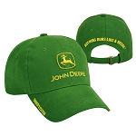 John Deere Green Owners Edition Cloth Cap - 228426