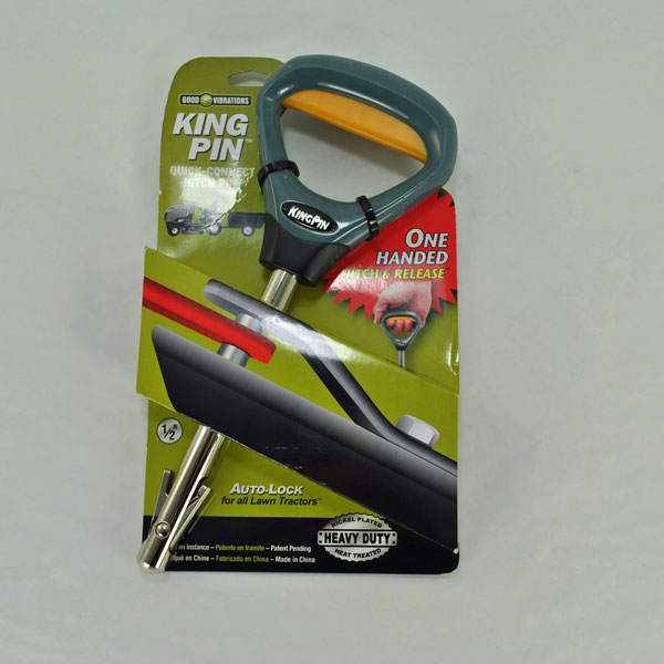 Quick Hitch Pin : King pin quick connect hitch gv