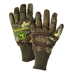 John Deere Mens Camo Light-Duty Cotton Grip Glove - LP42384