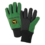John Deere Mens Light-Duty Cotton Grip Glove - LP42385