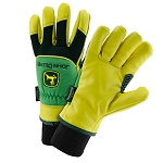 John Deere Men's Lined Deerskin Leather Driver Glove - LP47727 - LP47726 - LP47728
