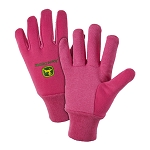 John Deere Ladies' Pink Lined Jersey Glove - LP47696