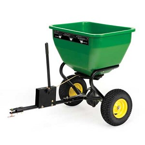 John Deere Tow-Behind Broadcast Spreader - 3.5 cu. ft. capacity - LPBS36JD