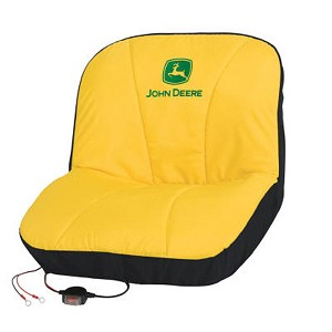 John Deere Gator and Riding Mower Heated Seat Cover - LP21787