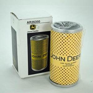 John Deere Cartridge Engine Oil Filter - AR26350