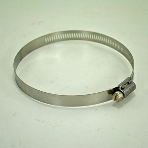John Deere Worm Drive Stainless Steel Hose Clamp - TY22474 - 3-9/16-in thru 4-1/2-inch