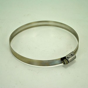 John Deere Worm Drive Stainless Steel Hose Clamp - TY22475 - 4-1/16-in thru 5-inch